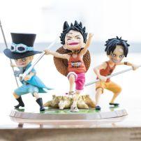 Mô Hình Nhân Vật Figure Bộ Ba Anh Em Ace-Sabo-Luffy -One Piece