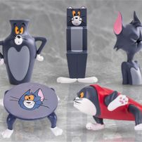 Mô Hình Figure Tom Silly Cat Carving Everyday Vol. 1 - Tom And Jerry