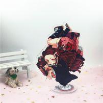 Mô Hình Standee Acrylic Nezuko Ver 2 - Kimetsu No Yaiba
