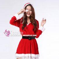 Đồ Noel Đẹp Có Nón Váy Viền Ren