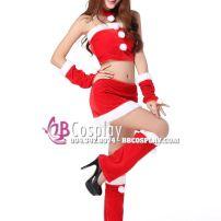 Bộ Đồ Noel Sexy Gợi Cảm 9 Chi Tiết