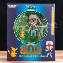 Mô Hình Nendoroid 800 Satoshi & Pikachu - Pokemon
