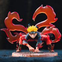 Mô Hình Figure Naruto Hóa Cửu Vĩ - Naruto