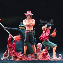 Bộ Mô Hình Figure - Luffy-Ace-Sabo Attack Styling - One Piece