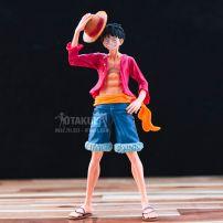 Mô Hình Figure Luffy Memory Cầm Nón - One Piece