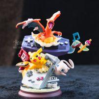 Mô Hình Figure GBA Spitfire Dragon Pikachu Fantasy