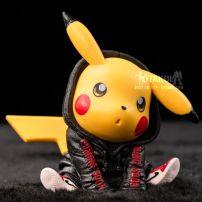Mô Hình Figure Pikachu Supreme Đen