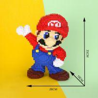 Mô Hình Lego Mario Đỏ