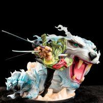 Mô Hình Figure Roronoa Zoro Và Bạch Hổ - One Piece