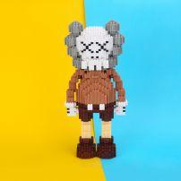 Mô Hình Lego Nano HC Magic Kaws Gray-brown