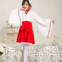 Trang Phục Cosplay Houki Shinonono Kitsune Miko