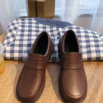 Giày Nữ Sinh Nhật Bản Màu Nâu Socola Size 37