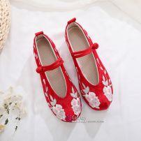 Giày Thêu Hán Phục Đế 4cm Size 38