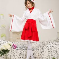 Trang Phục Cosplay Nhật Bản Waloli Houki Shinonono Kitsune Miko
