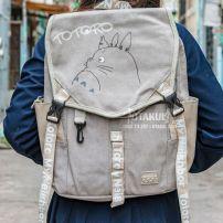 Balo Anime Totoro - My Neighbor Totoro Xám