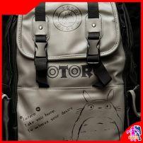 Balo Anime Totoro Đen Xám