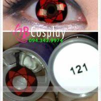 Lens Cosplay 121, Naruto - Sasuke Sharingan
