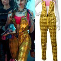 Harley Quinn Quần Yếm Vàng