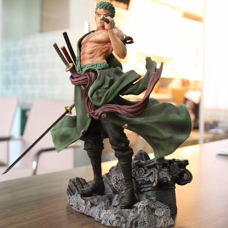 Mô Hình Figure Roronoa Zoro Statue GK Resin Turbo Jet Studios - One Piece