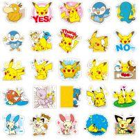 Bộ Sticker Hình Pikachu - Bộ 80 Cái