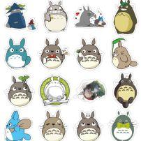 Bộ Sticker Totoro - Hàng Xóm Của Tôi Là Totoro (50 Cái)