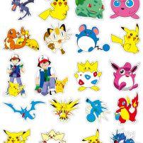 Bộ Sticker Pokemon - 38 Cái