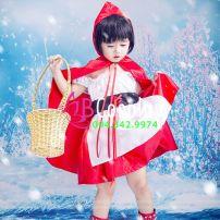 Trang Phục Cô Bé Quàng Khăn Đỏ 1 (Trẻ Em)