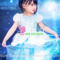 Trang Phục Công Chúa Cinderella (Trẻ Em)