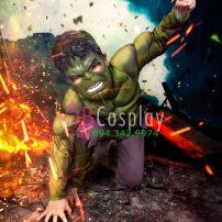 Trang Phục Hulk (Người Khổng Lồ Xanh) Trẻ Em