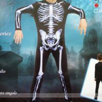 Trang Phục Bộ Xương (Trẻ Em) Halleween - Skeleton Jumsuit
