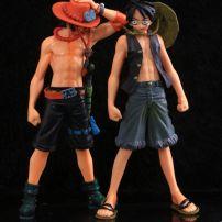Bộ 2 Mô Hình Luffy - Ace (One Piece)