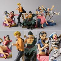 Set 5 Mô Hình Figure One Piece