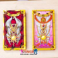 Hộp Bài Sakura Và The Clow - Bộ 2 Sản Phẩm - Cardcaptor Sakura
