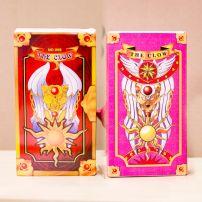 Bộ 2 Hộp Bài Sakura Và Clow - 56 Lá - Cardcaptor Sakura