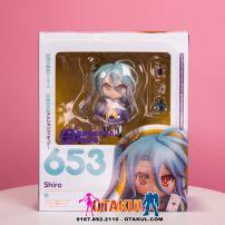 Mô Hình Nendoroid 653 - Shiro - No Game No Life