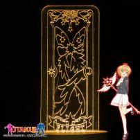 Đèn Ngủ Sakura Clear Card - FLIGHT -Vàng