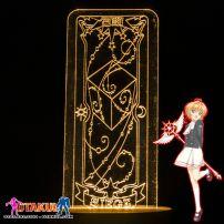 Đèn Ngủ Sakura Clear Card - SIEGE -Vàng