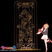 Đèn Ngủ Sakura Clear Card - APPEAR -Vàng