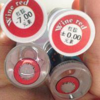 Kính Áp Tròng Đỏ - Wine Red
