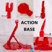 Action Base Cho Gunpla - Đỏ Đậm