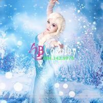 Trang Phục Elsa 1 (Nữ Hoàng Băng Giá)