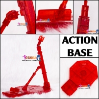 Action Base Cho Gunpla - Đỏ Trong Suốt