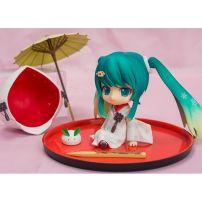 Mô Hình Nendoroid 303 - Snow Miku: Strawberry White Kimono Ver.
