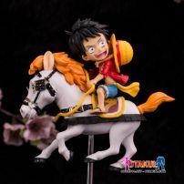 Mô Hình Luffy - One Piece - Cưỡi Ngựa