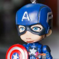 Móc Khóa Mô Hình Chibi Captain America