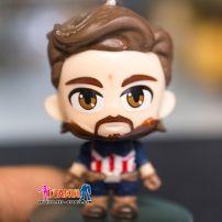 Móc Khóa Mô Hình Chibi Captain America - Nhỏ