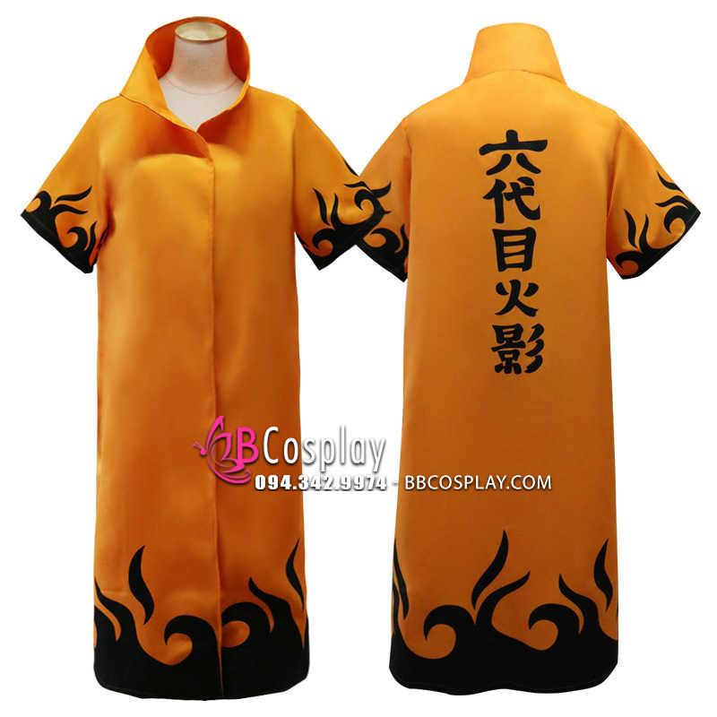 Áo Khoác Naruto Hokage