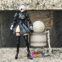 Mô Hình YoRHa No.2 Type B & Machine Lifeform