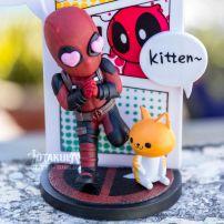 Mô Hình Figure Deadpool Yêu Mèo