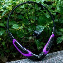 Tai Nghe Bluetooth - Đen Tím - Vocaloid